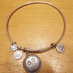 Alex and ani disney jack skellington bangle